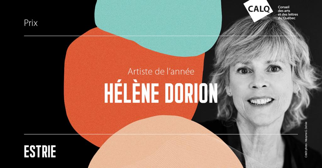 Hélène Dorion Artiste de l'année